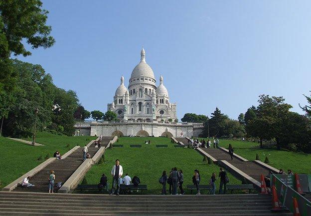 Eglise du Sacré Coeur à Paris