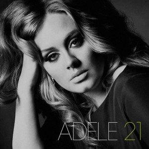 Adèle, pochette de l'album 21