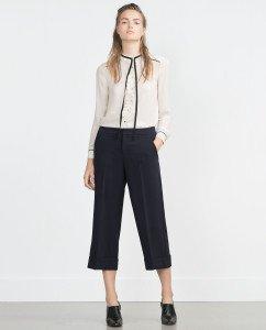 pantalon uniforme zara