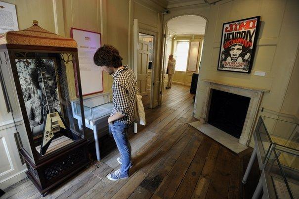 appartement londres Jimi Hendrix