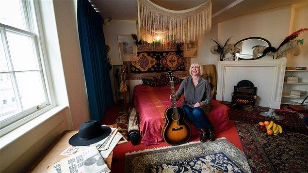 chambre de Jimi Hendrix