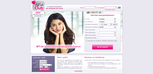 Site rencontre asie