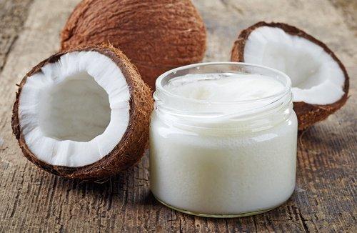 Crème naturelle à l'huile de noix de coco pour rajeunir le contour des yeux 1