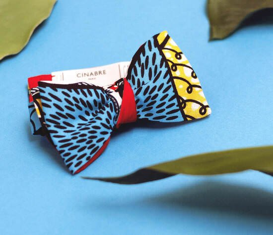 Noeud papillon cinabre paris