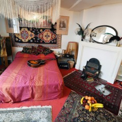 Visitez l'appartement de Jimi Hendrix